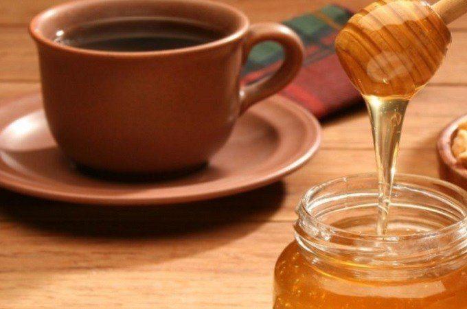 Приготовление кофе с медом