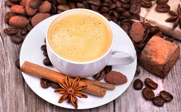 Рецепт кофе с корицей и шоколадом