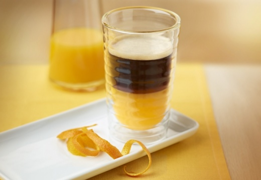 Приготовление апельсинового кофе