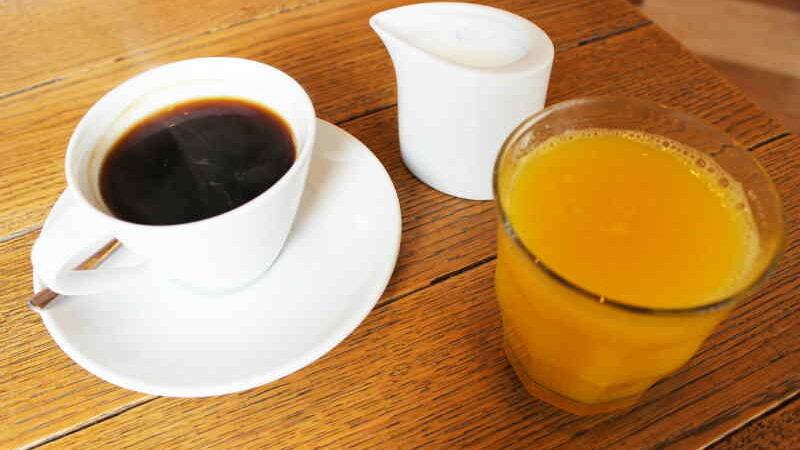 Рецепт кофе с апельсиновым соком