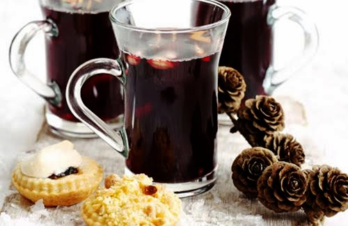 Приготовление глинтвейна с кофе